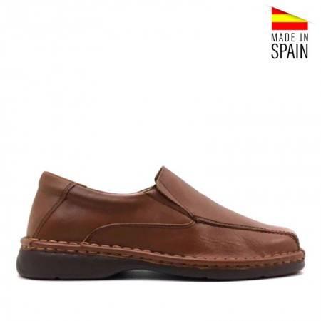 zapatos piel hombre baratos valerio 2033 marrones