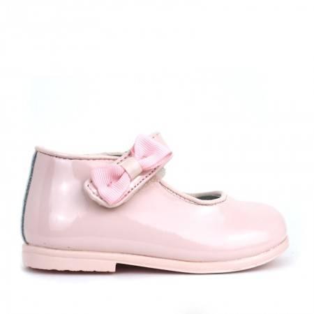 zapatos bebe niña CHAROL ROSA