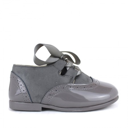 OXFORD niña gris vestir