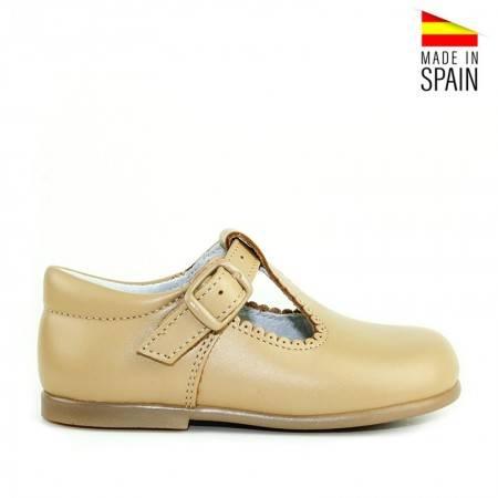 zapatos bebe pepitos camel