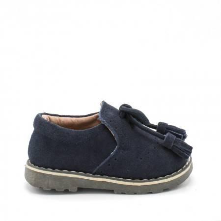 zapatos niño azul marino