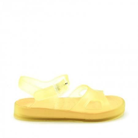 SANDALIAs goma amarillas