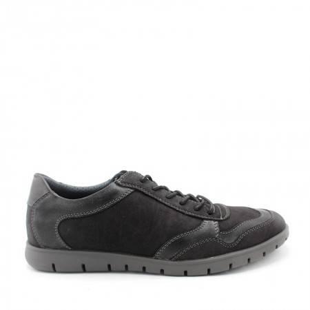 zapatos negros cómodos para hombre