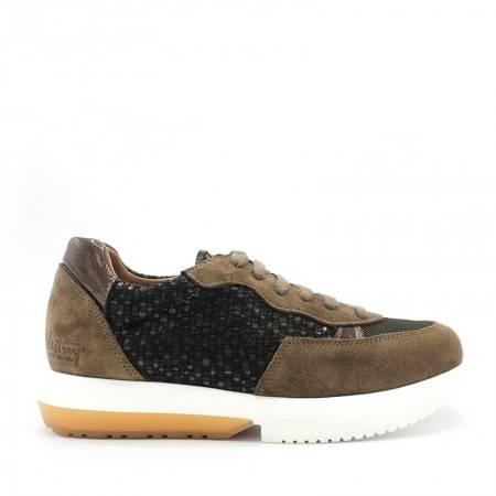 zapatillas de piel mujer