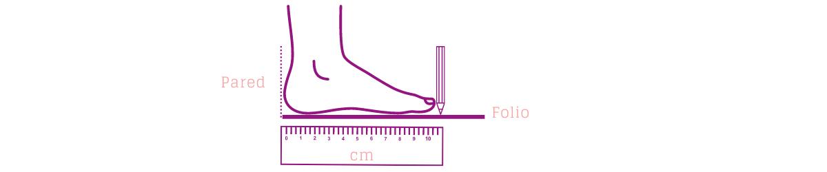 guía tallas zapatos